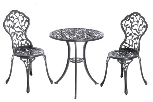 Komplekt Laud ja 2 tooli ANTIQUE