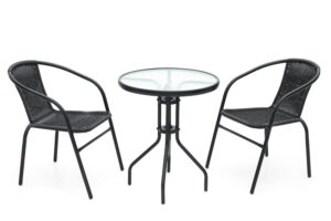 Laud + 2 tooli