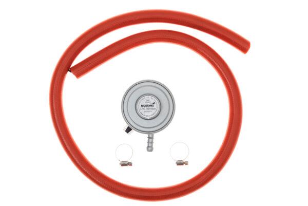 Gaasiregulaatori komplekt Click-on MUSTANG