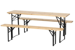 Kokkupandav laud ja 2 pinki
