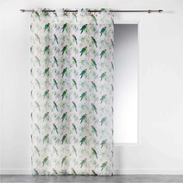 Kardin õhuke 140 x 240 cm Papagoid