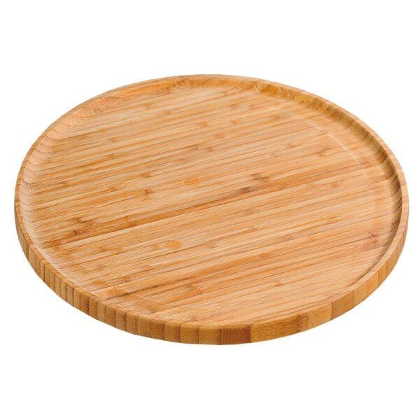 Pizza serveerimisalus bambusest