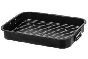 Pann grillrestiga 40 x 28 x 7cm