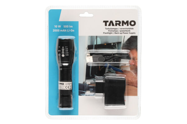 Taskulamp laetav LED 500lm