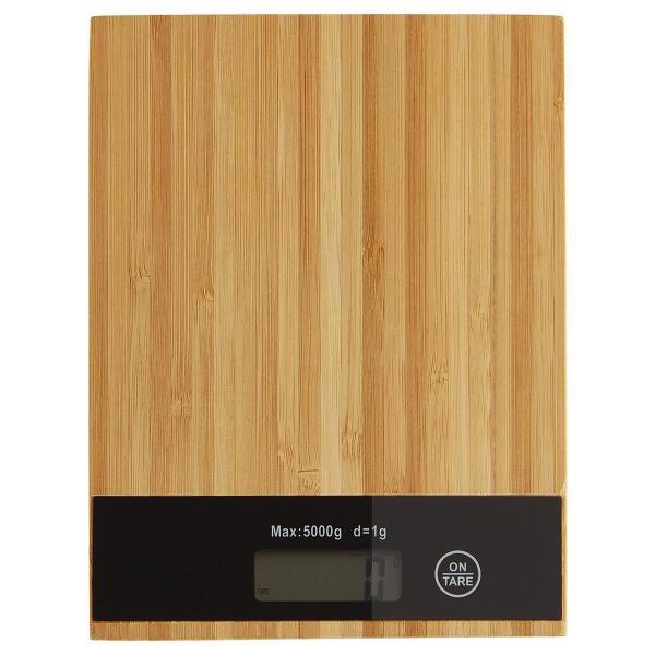 Köögikaal bambusest kattega