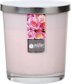 Lõhnaküünal klaasis Roos