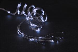 Elektriküünlad micro 200LED valge