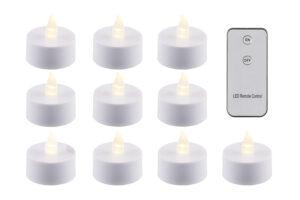Teeküünal LED puldiga 10tk