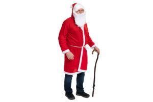 Jõuluvana riiete komplekt - jakk + habe