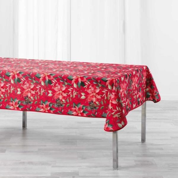 Laudlina 150 x 300cm LA ROSIERE punane/jõulutäht