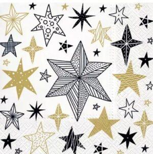Salvrätikud geomeetrilised tähed