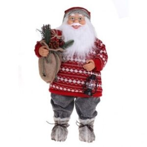 Jõulumees laternaga 45cm