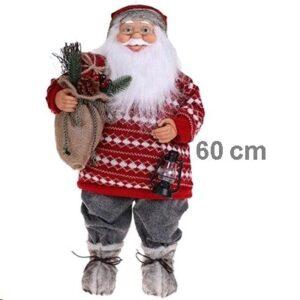 Jõulumees laternaga 60cm