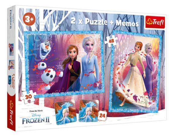 Pusle 2tk ja Memo Frozen