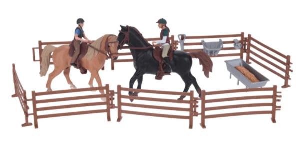 Hobused ratsanikega