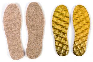 Jalatsite sisetallad