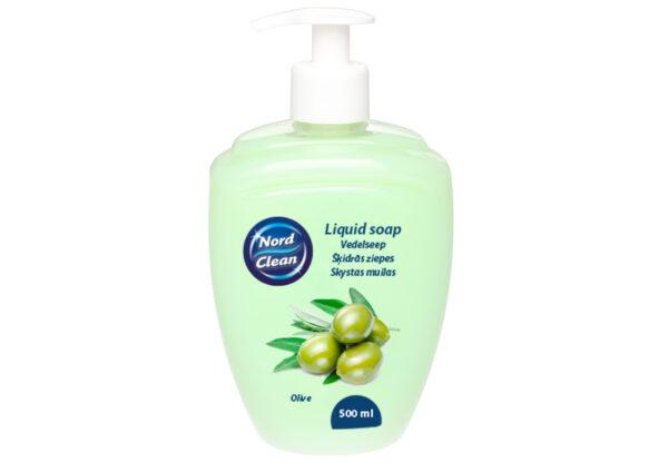 Vedelseep kätele Nord Clean Olive 500ml