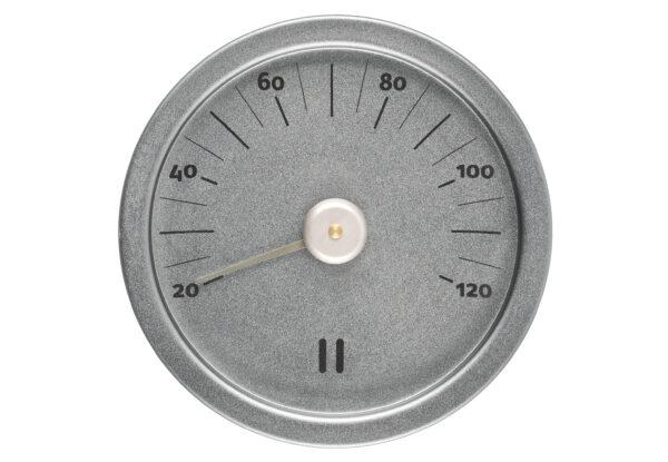 Saunatermomeeter alumiiniumist 15cm