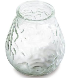Küünal klaasis Bolsius valge 500gr