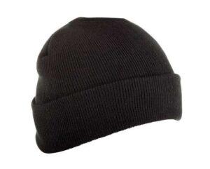 Meeste kootud müts LAHTI PRO must