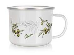 Kruus email 0,5L oliivid