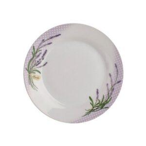 Taldrik portselan 19cm lavendel