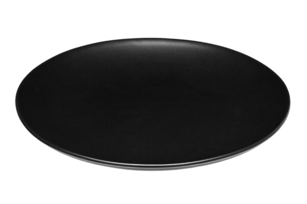 Taldrik keraamiline 21cm must