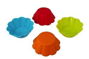 Muffinivormid silikonist 12tk