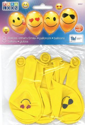 Õhupallid 8tk smile