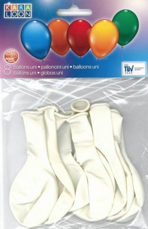 Õhupallid 8tk valged