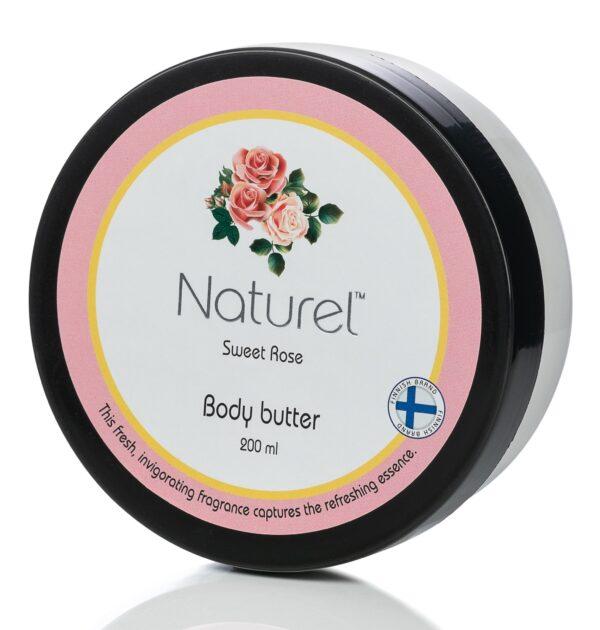 Kehavõi Naturel Sweet Rose 200ml
