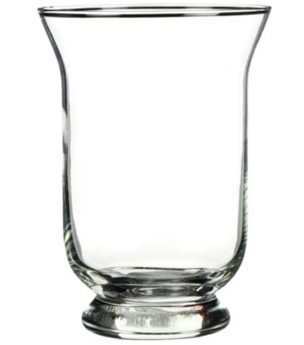Küünlahoidja klaasist 19cm