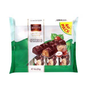 Shokolaadivahvel piima-pähklitäidisega