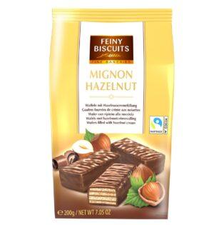 Shokolaadivahvel pähklitäidisega 200 g