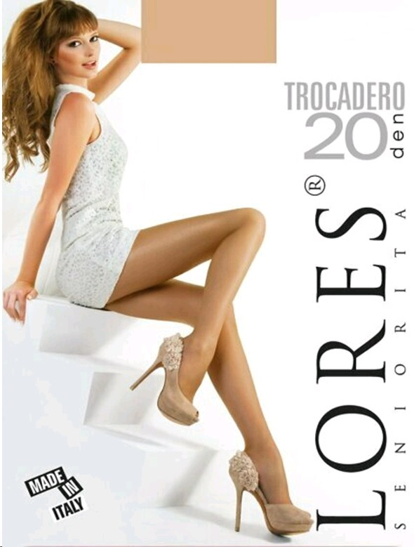 Sukkpüksid Lores Trocadero 20DEN S