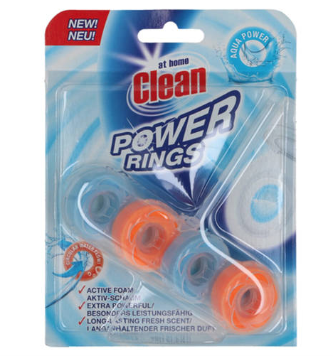WC värskendaja Power Rings Aqua 40g
