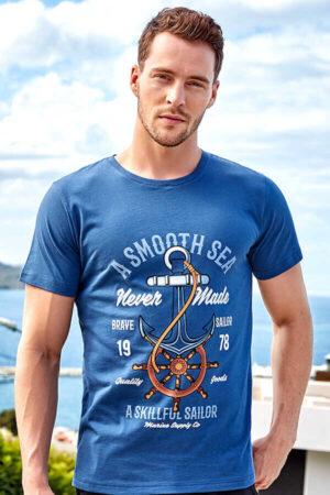 Meeste T-särk - sinine