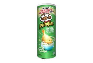 Kartulikrõpsud Pringles hapukoore- ja sibulamaitselised 165 g
