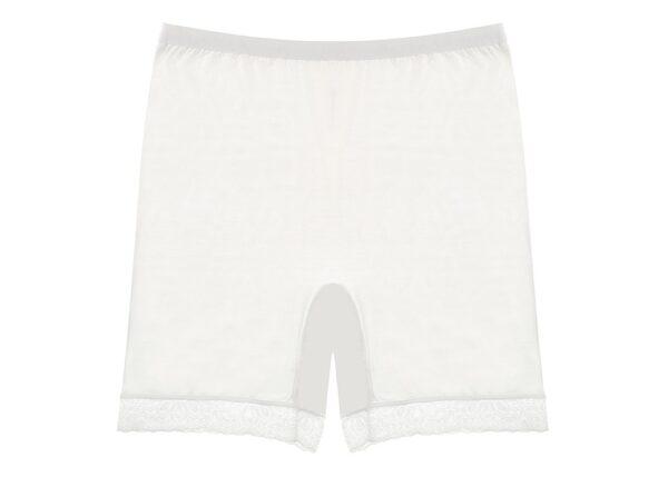 Naiste aluspüksid (pikem sääreosa) - valge