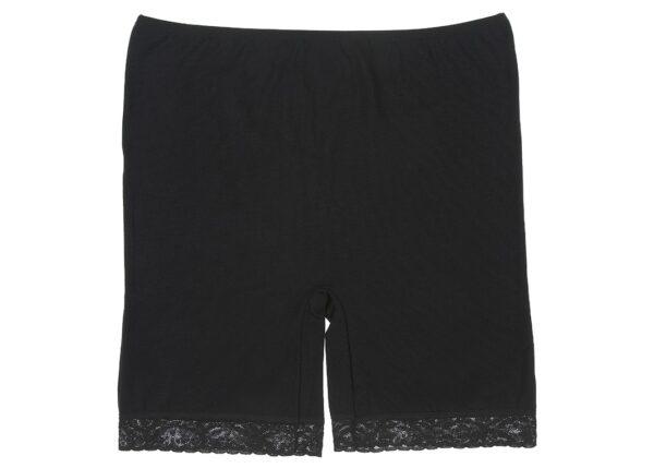 Naiste aluspüksid (pikem sääreosa) - must