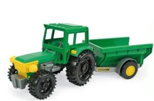 Traktor käruga