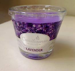 Lõhnaküünal klaasis 160 g Lavendel