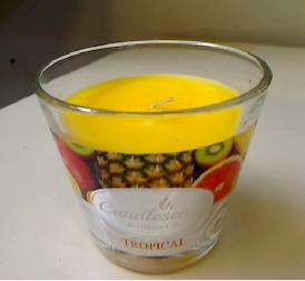 Lõhnaküünal klaasis 160 g Puuvili