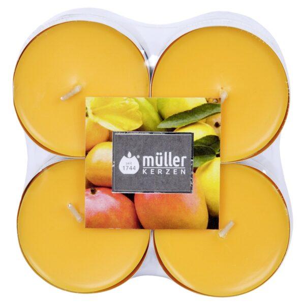 Lõhnateeküünal 8 tk puuvili