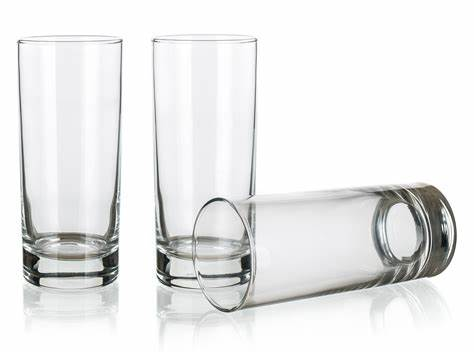 Klaasid 3 tk 275 ml CORTINA