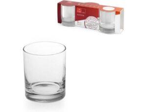Klaasid 3 tk 255 ml CORTINA