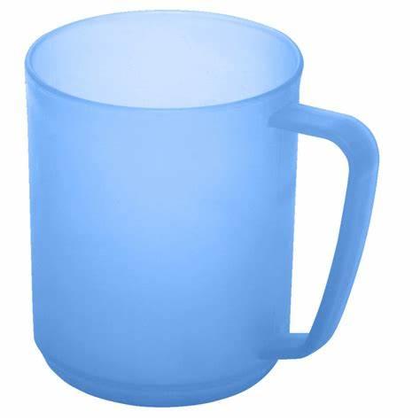 Kruus plastmassist sinine
