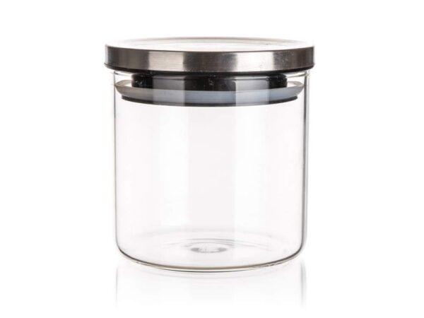 Hoiupurk kaanega klaasist 650 ml FREIA