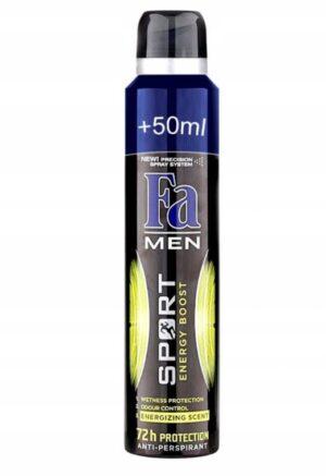 Deodorant Fa Sport Energy Boost meestele 150+50ml