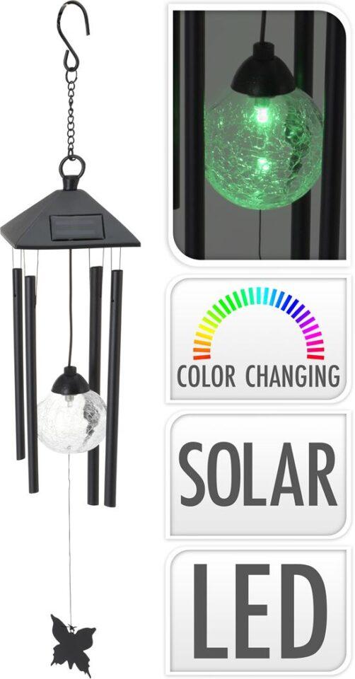 Solarvalgusti-tuulekell LED